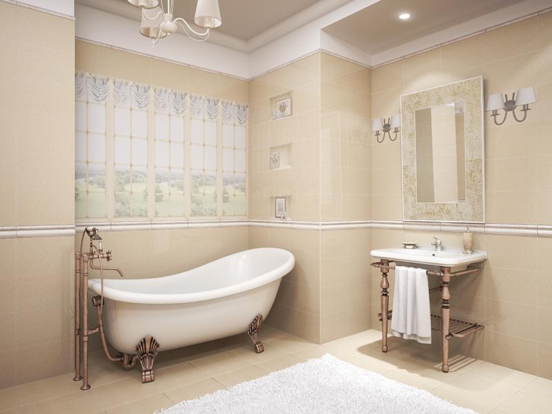 Poser du carrelage mural dans une salle de bain saint - Poser du carrelage mural dans une douche ...