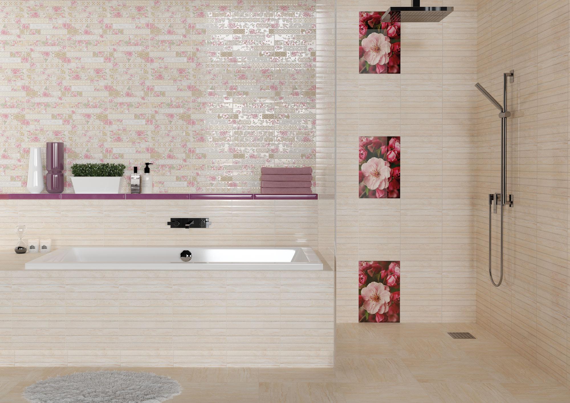 Ceramic dado tiles