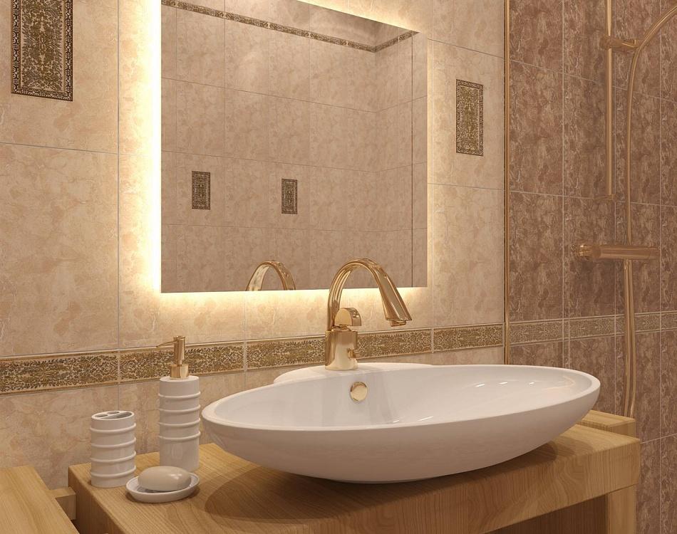 Плитка дориан в интерьере ванной