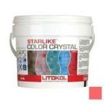 Затирка для мозаики Starlike Color Crystal эпоксидная C.351 Rosso Pompei -