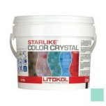 Затирка для мозаики Starlike Color Crystal эпоксидная C.352 Verde Capri -