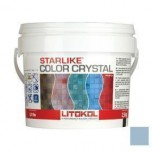 Затирка для мозаики Starlike Color Crystal эпоксидная C.353 Azzurro Taormina -